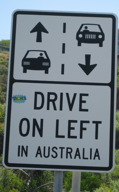 Drive on Left Australia