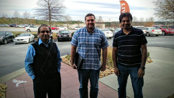 HL™ Team Members (from left to right): Chaganti, Ph.D; Calleja, Ph.D; and Arumalla, MSc.